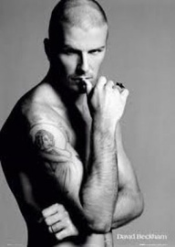 David Beckham Thinking About How Fine He Is