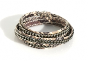 Vita-Fede-facini-wrap-bracelet-python