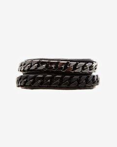 Vita-Fede-monaco-wrap-bracelet-black