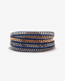 Vita-Fede-wrap-bracelet-blue