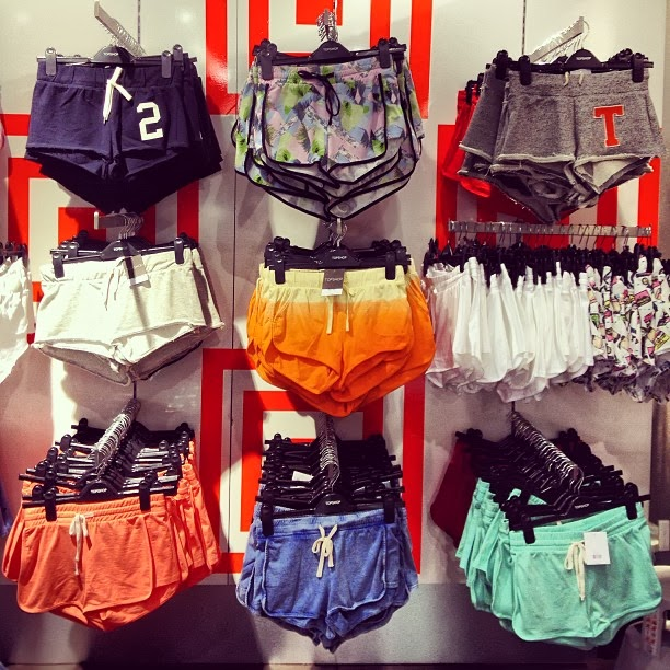 Top Shop Running Shorts