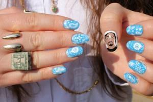 Snoop Lion Manicure