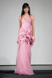 Are Vera Wang's Pink Bridal Dresses Just ForShow?