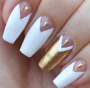 Nail art by Happily Ever Rose.