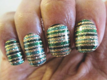 Countdown to St. Patrick's Day With Incoco Nail Polish Appliqué: Part 1 – Happy GoLucky