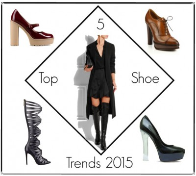 The Top 5 Shoe Trends of2015