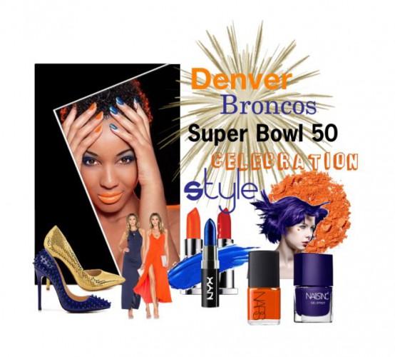 Denver Bronco Super Bowl 50 CelebrationStyle