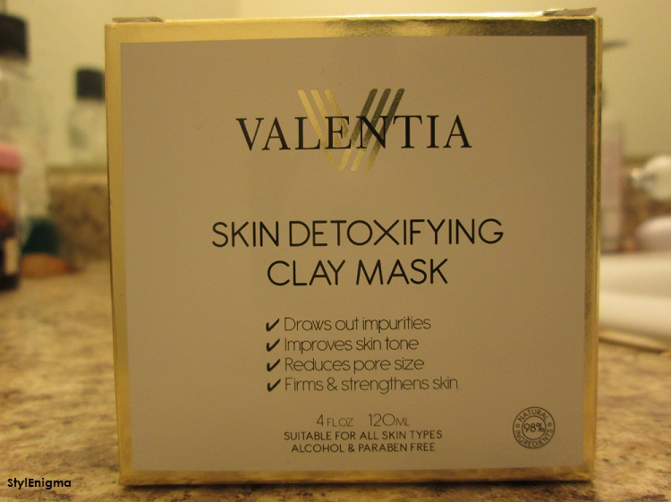 Valentia Detoxifying Clay Mask