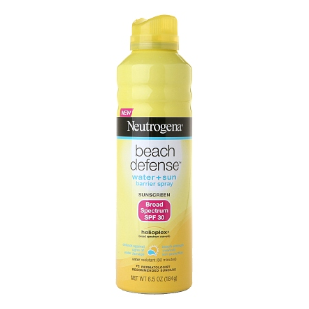 Neutrogena Beach Defense SPF 30 Spray - Beach Armor List Influenster