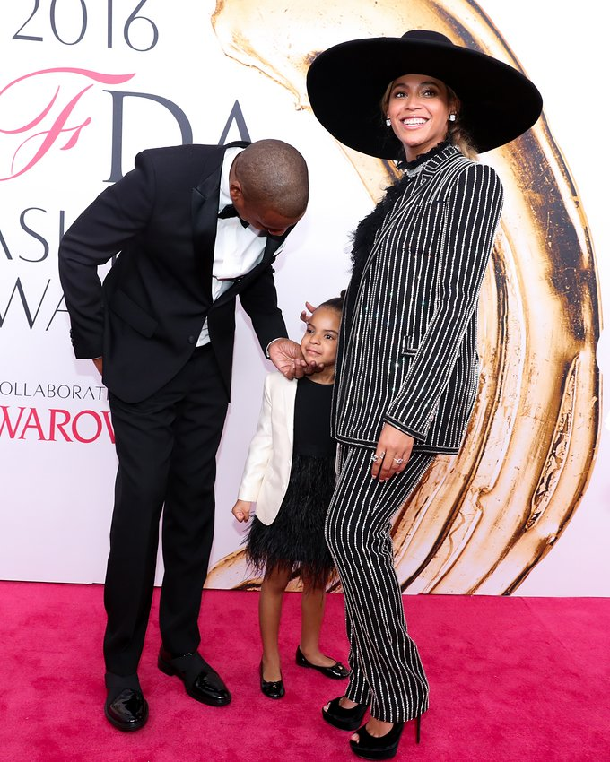 The Carter's in Givenchy - Image via Vogue.